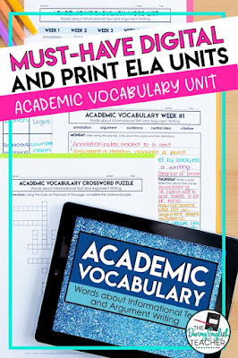 5 Digital and Print ELA Resources for Middle School and High School