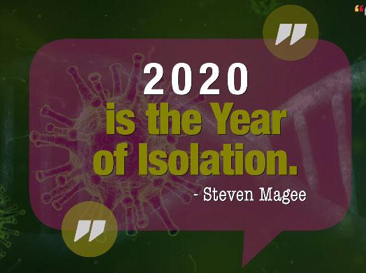 2020 Isolation Year Meme