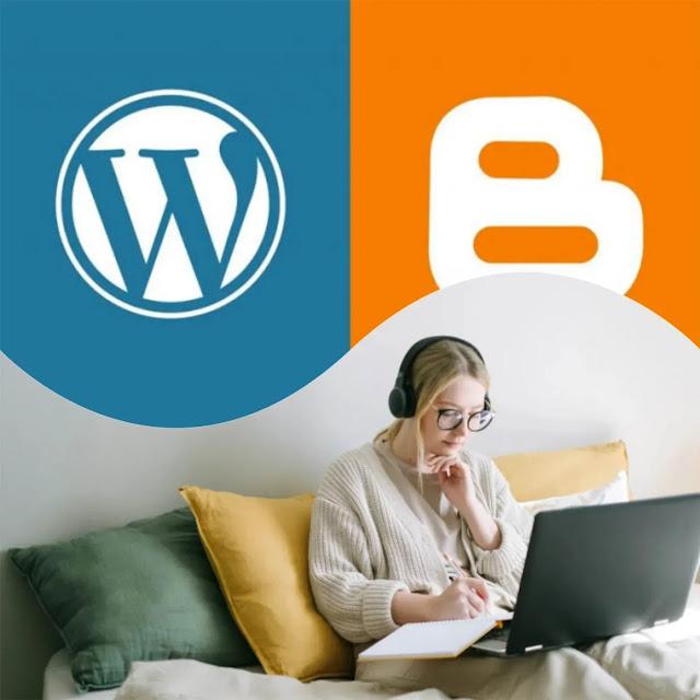 Blogger vs Wordpress adalah setara