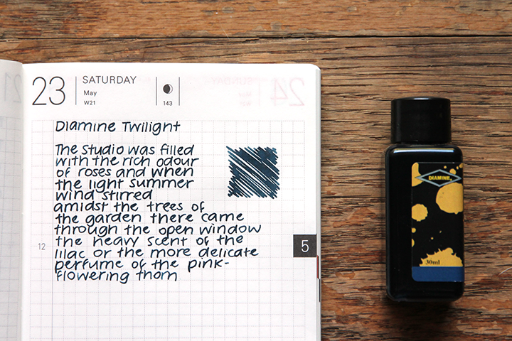 review: diamine twilight