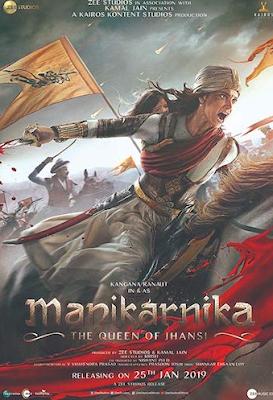 Manikarnika The Queen of Jhansi 2019 Hindi 720p  1GB