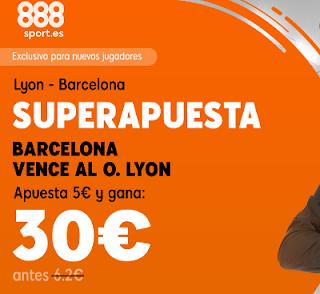 888sport superapuesta champions Barcelona vs Lyon 13 marzo 2019