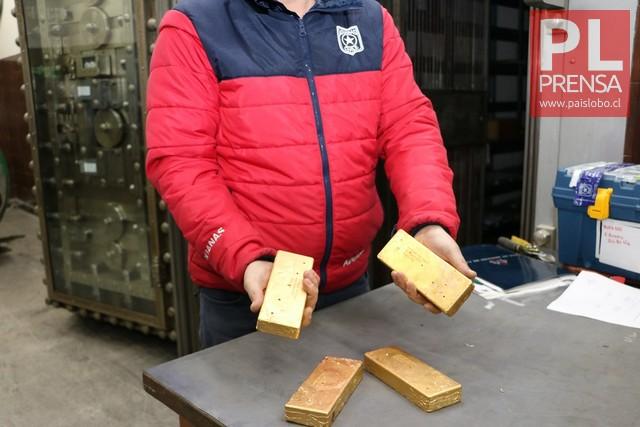 Subasta de oro