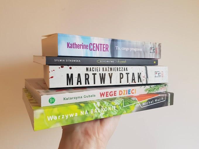 Pięć w jednym, czyli mini recenzje książek...