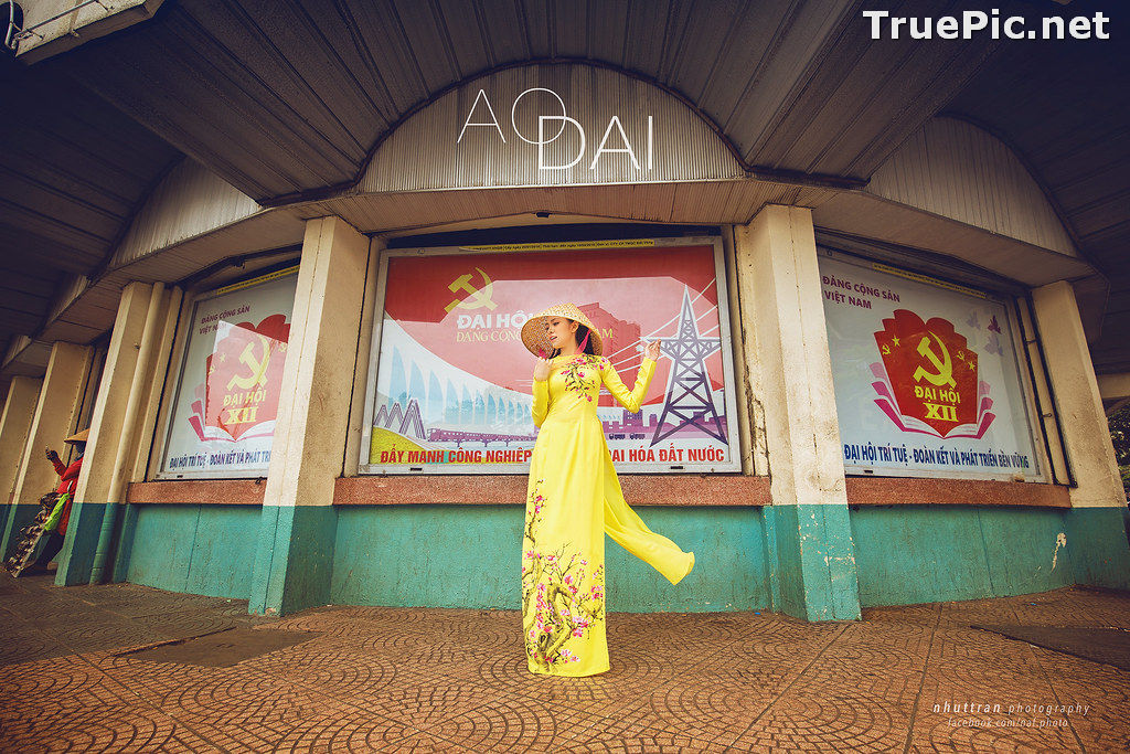 Image The Beauty of Vietnamese Girls with Traditional Dress (Ao Dai) #5 - TruePic.net - Picture-4
