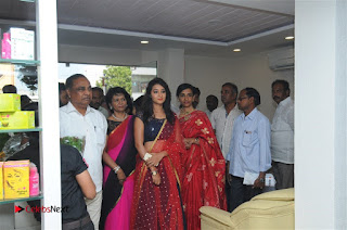 Telugu Actress Bhanu Sri Stills in Lehenga Choli at Anoo's Salon Launch at Ongole  0027.jpg
