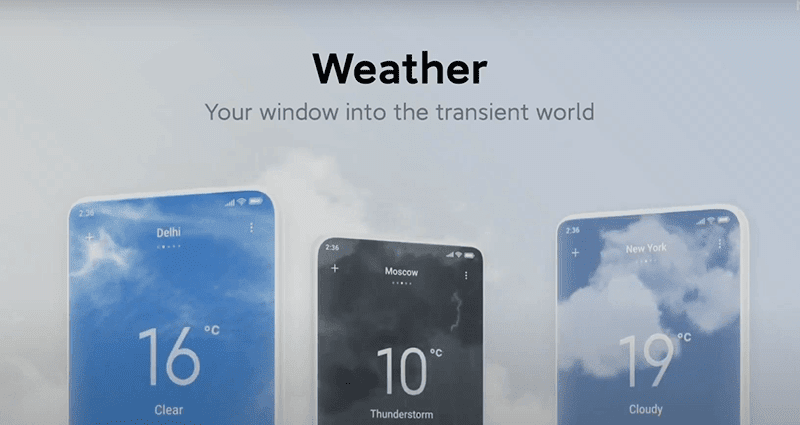 Interactive Weather App