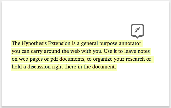 4 powerful tools to annotate webpages educational technology and the hypothesis extension is a general purpose annotator you can carry around the web with you use it to have a discussion on web pages or pdf documents ccuart Choice Image