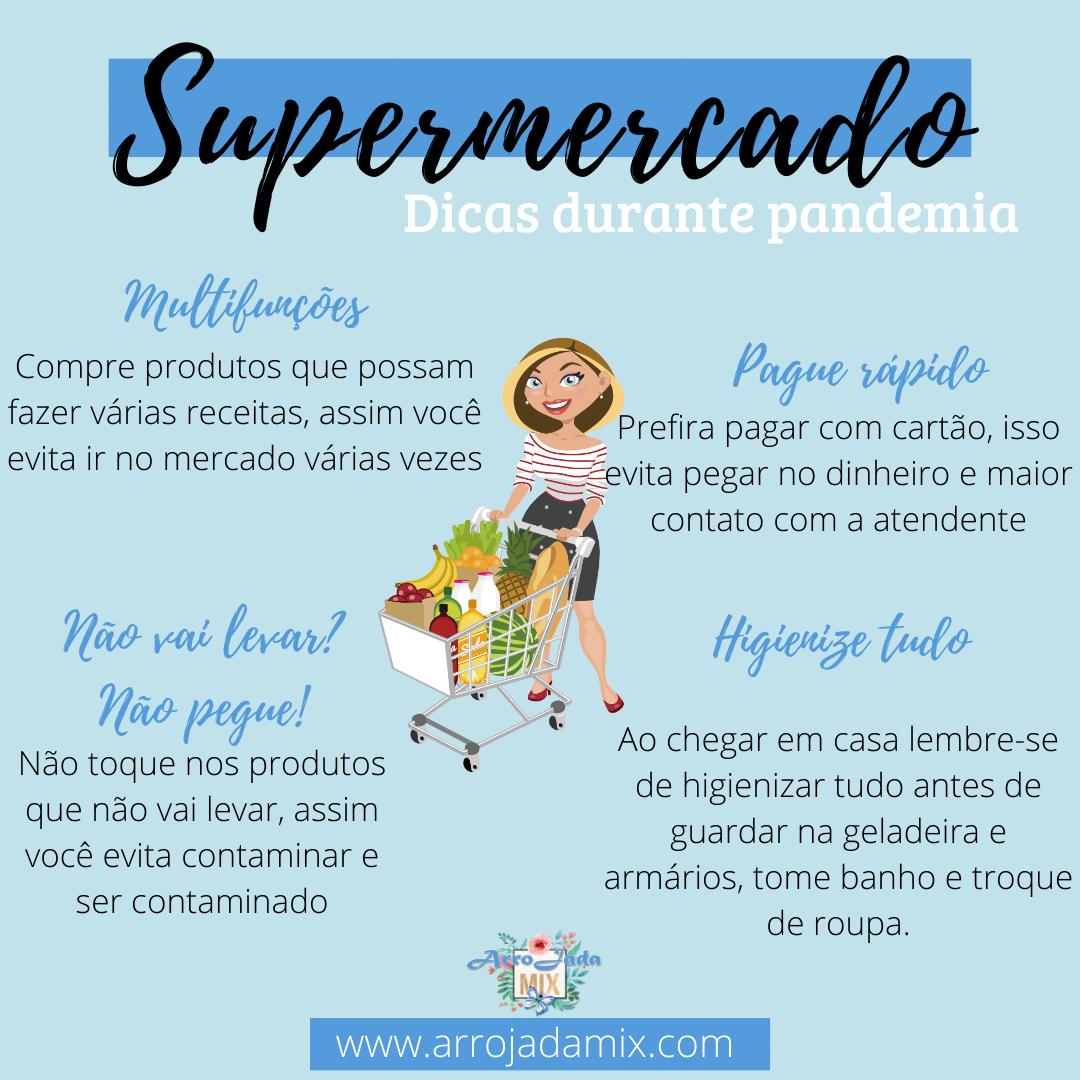 Dicas: supermercado na pandemia