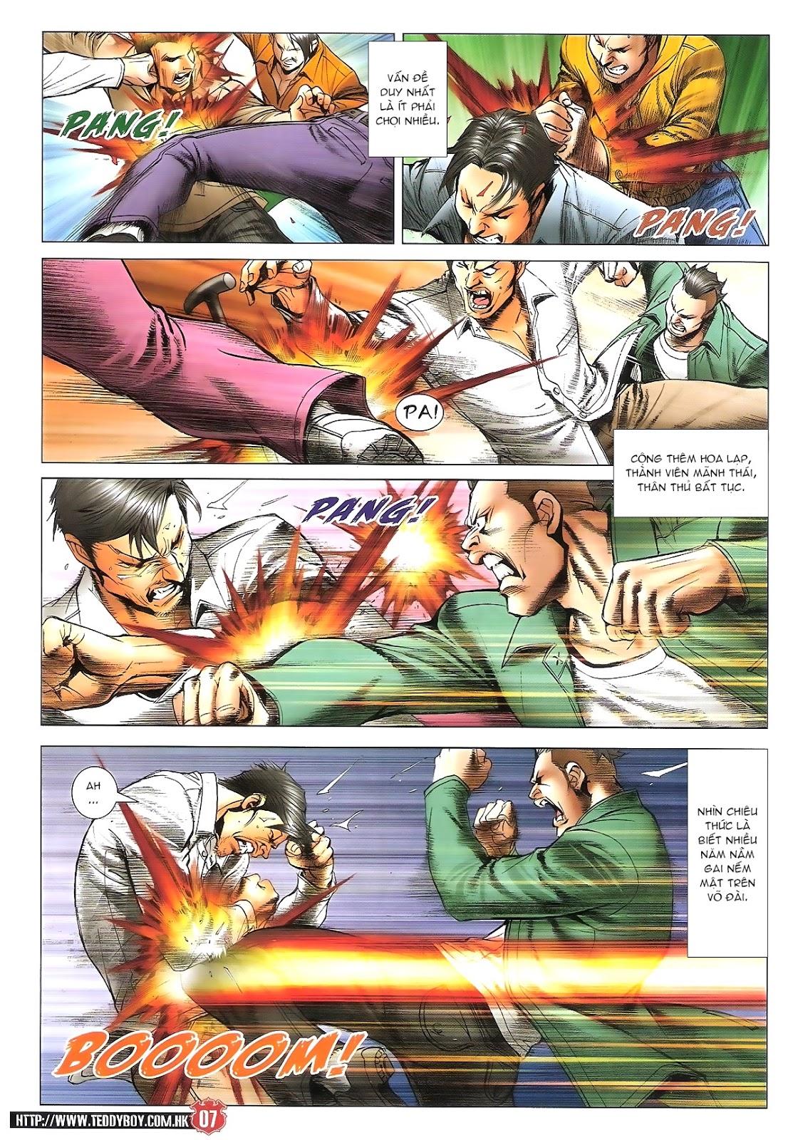Người Trong Giang Hồ chapter 1696: giết vào vượng giác trang 6
