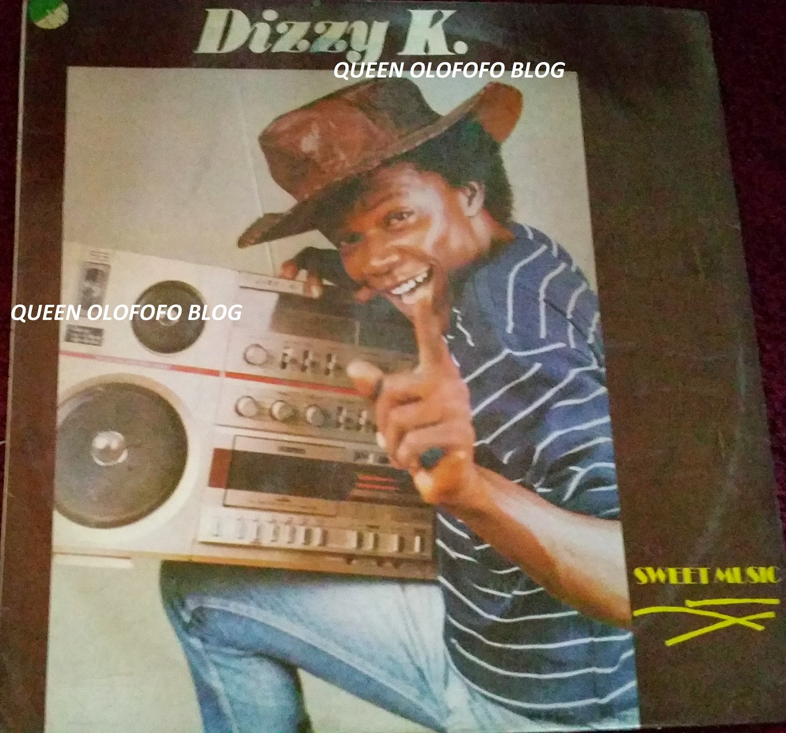 dizzy K falola was a pop king from 1980s