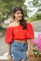 Rhea Chakraborty in Red Crop Top and Denim Shorts Spicy Pics ~  Exclusive 065.JPG