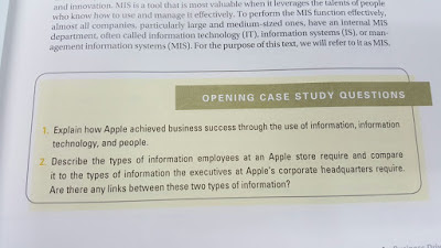 mis case study with question and answers