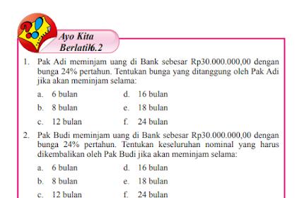 Pembahasan Soal Ayo Berlatih 6.2 Matematika Kelas 7 Halaman 83-86