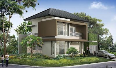 model teras rumah mewah terbaru