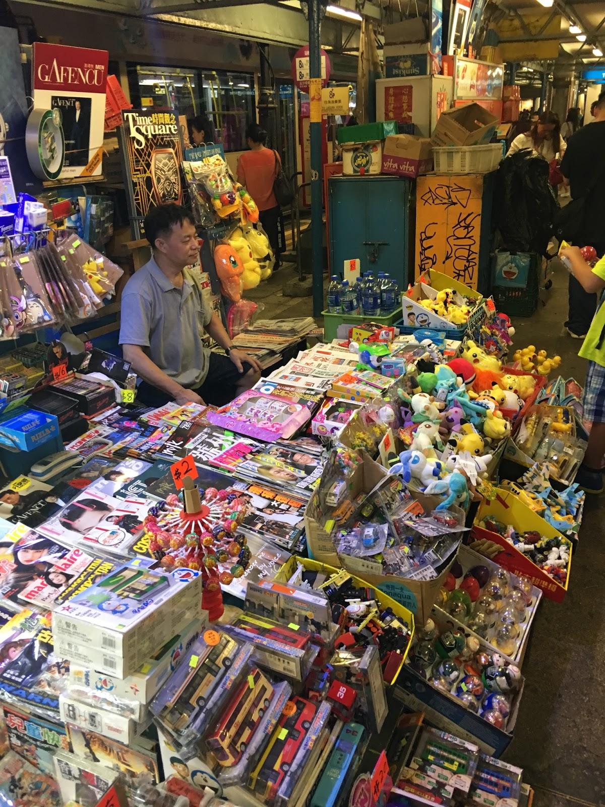 Causeway Bay Hong Kong Street Vendor - Aspiring Londoner
