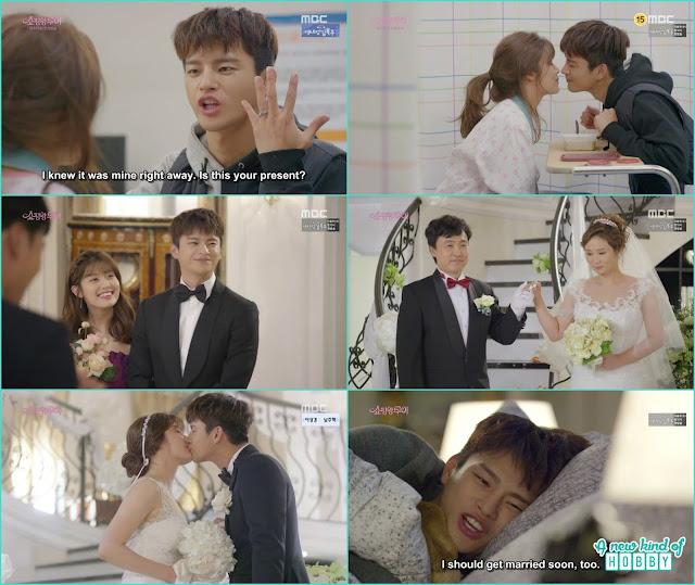 louis and bok shil wedding kiss - Shopping King Louis (Kisses) korean Drama