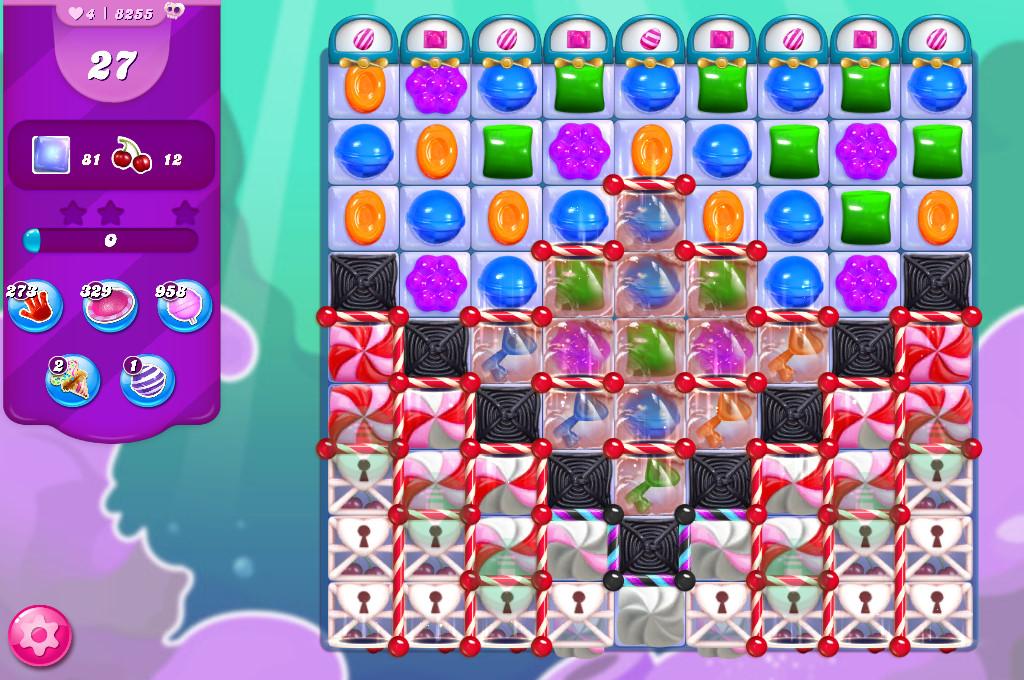 Candy Crush Saga level 8255