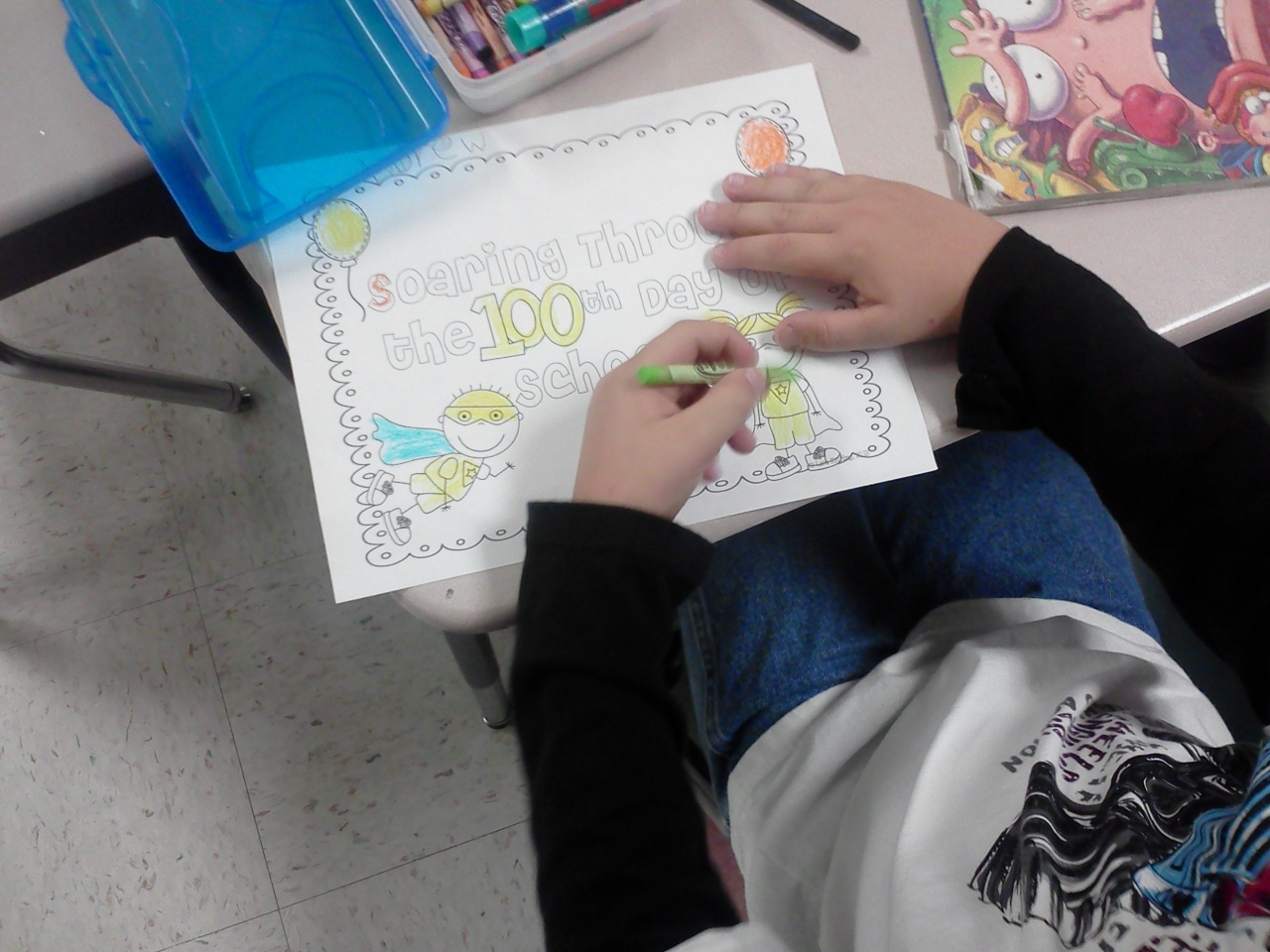 Learning Is Something To Treasure 100th Day Of School F U