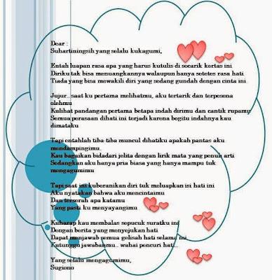 Contoh Surat Buat Sahabat Contoh Soal Dan Materi Pelajaran 8