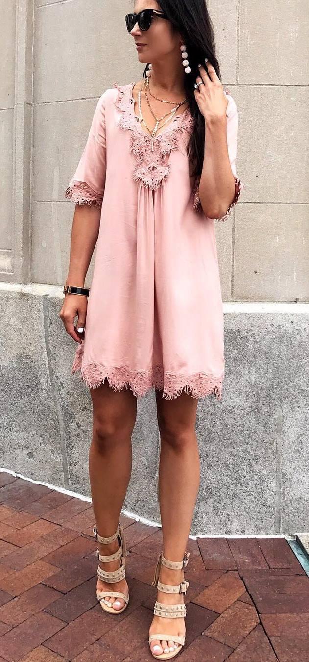 perfectly blush dress