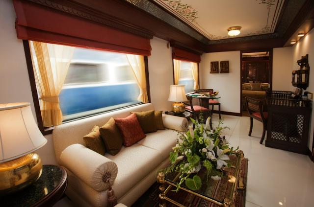 Train Nahi Ye Hai Patri Par Daudta Rajasi Aalishan Mahal