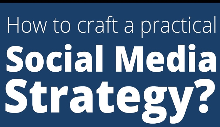 How To Craft A Practical Social Media Strategy #Infographic