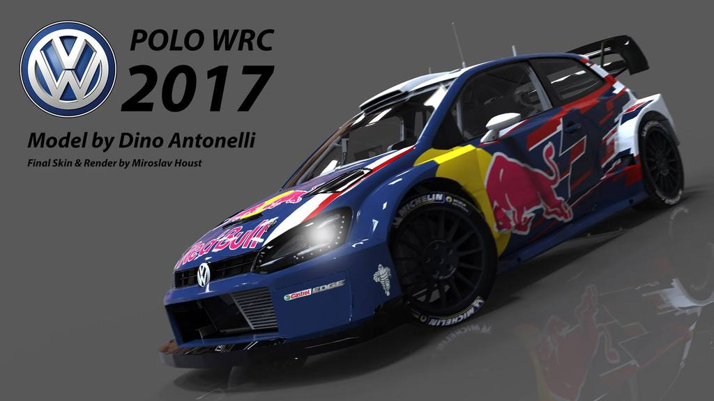 Rbr Volkswagen Polo Wrc 2017