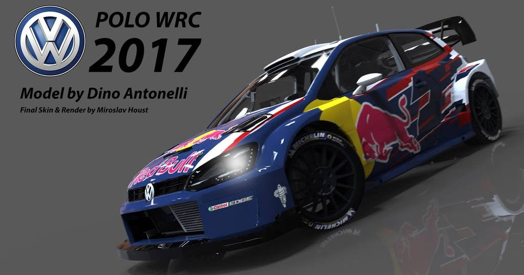 rbr volkswagen polo wrc 2017. Black Bedroom Furniture Sets. Home Design Ideas