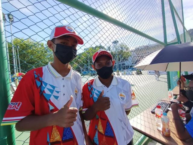 Ballboy di Arena Tenis Sian Soor Jayapura Sebut PON XX Papua Motivasi Menjadi Atlet.lelemuku.com.jpg