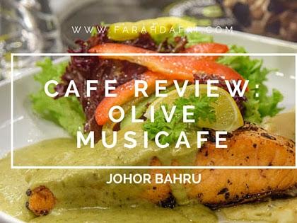 Doublekan Lemak : Olive Musicafe - Cafe Muzik Unik di Johor Bahru