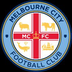 Logo Klub Sepakbola Melbourne City PNG