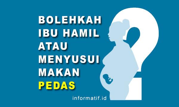Bolehkah Ibu Hamil Makan Pedas - informatif.id