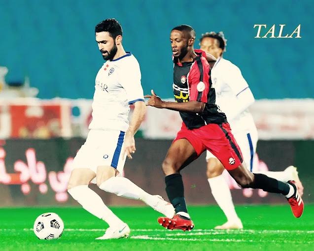 فوز الهلال على الرائد 1-0 في الجولة السابعة من الدوري السعودي