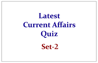 Current Affairs 2015- Multiple Choice Questions Set-2