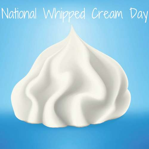 National Whipped Cream Day Wishes For Facebook