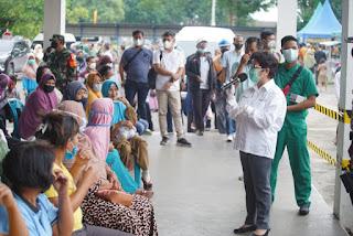 Pelaksanaan Vaksinasi Massal Di Inalum Terlaksana Dengan Baik