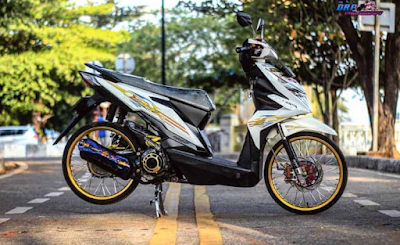Modifikasi Motor Beat Ring 17