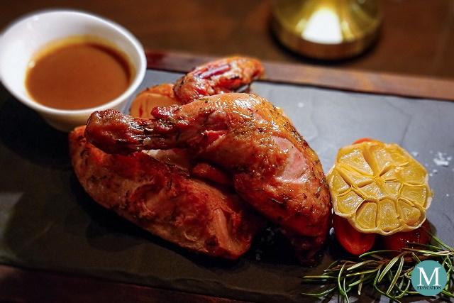 Roasted Chicken at Raging Bull Chophouse & Bar