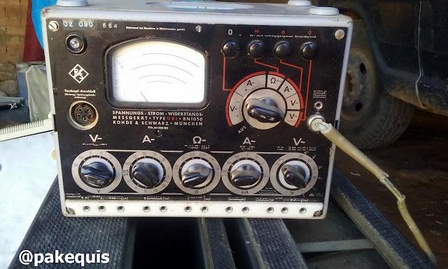 Rohde & Schwarz Type URI BN1050