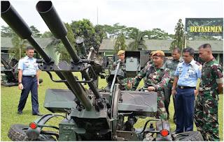 Terkait Pam Ibukota, Pangkosekhanudnas I Fokuskan Peningkatkan Operasional