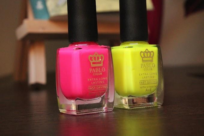 Więc chodź, pomaluj swoje paznokcie na żółto i różowo...
