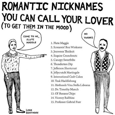 Romantic nicknames you can call your lover