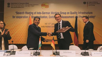 7th Meeting of Indo-German Working Group on Quality Infrastructure strengthens trade held in New Delhi