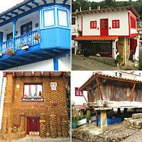 Tazones; Puerto pesquero; Casas típicas; Ría de Villaviciosa; Cantábrico; Asturias