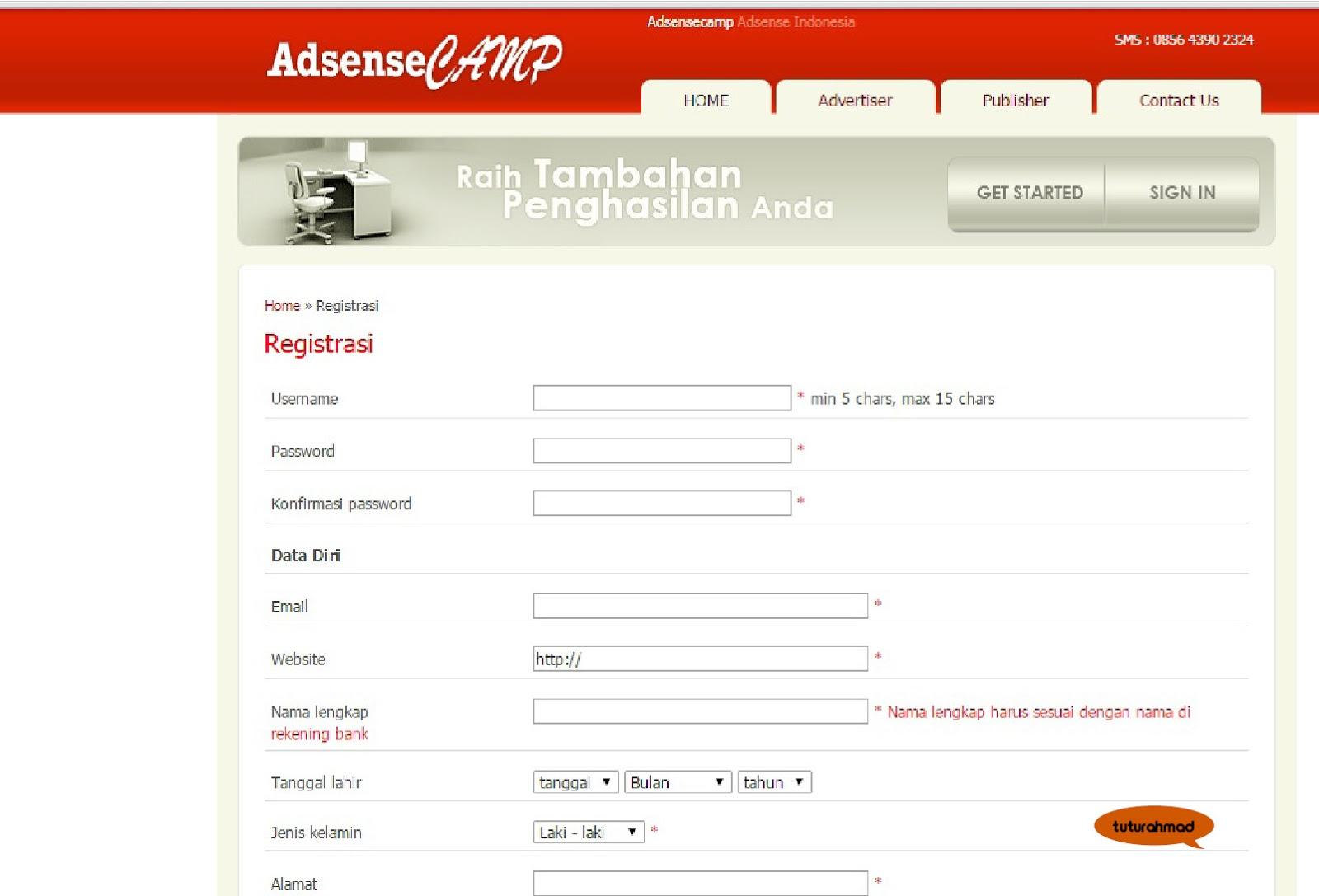 Cara Jadi Publisher Adsense