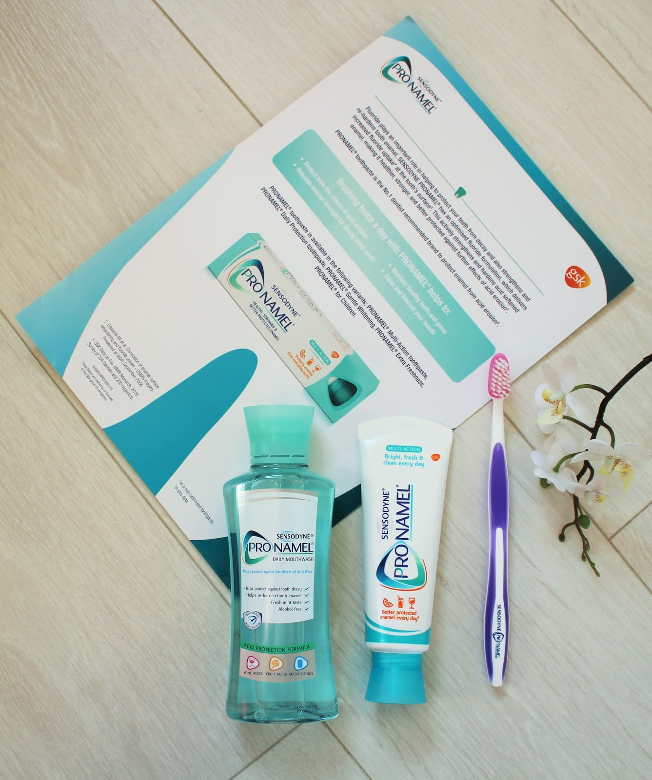 Protect your smile with Sensodyne Pronamel - 1