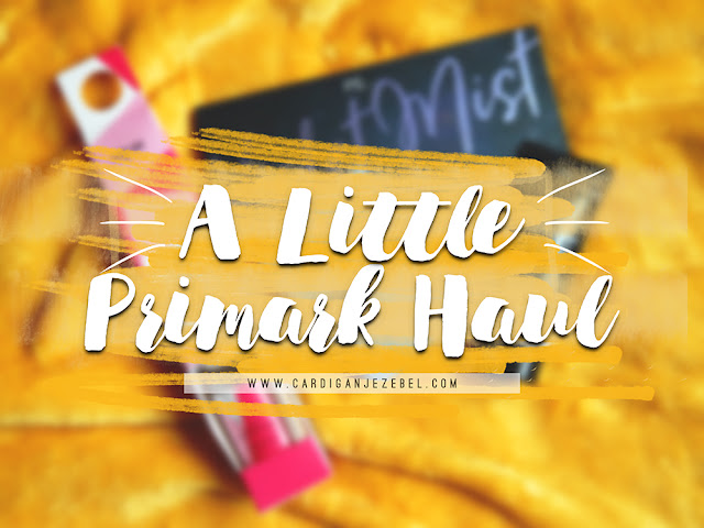 A little primark haul #AD