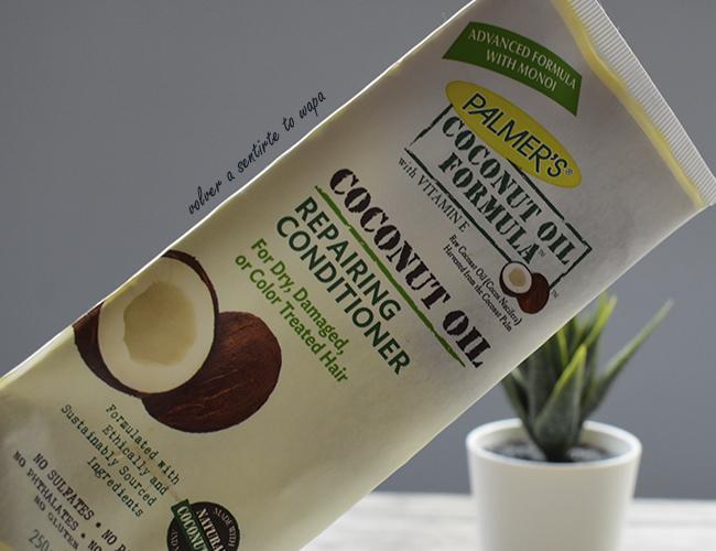 Acondicionador de Coco de PALMER'S, especial para pelo seco o dañado