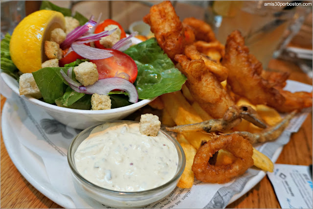 Fritto Misto de The Seafood Bar en Amsterdam